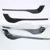 Exterior Front Fog Light Cover Head Lamp Eyebrow frame Trim ABS Chrome For Mazda CX 8 CX8 2017 2018 2019 Car Styling Accessories|Chromium Styling| |  -