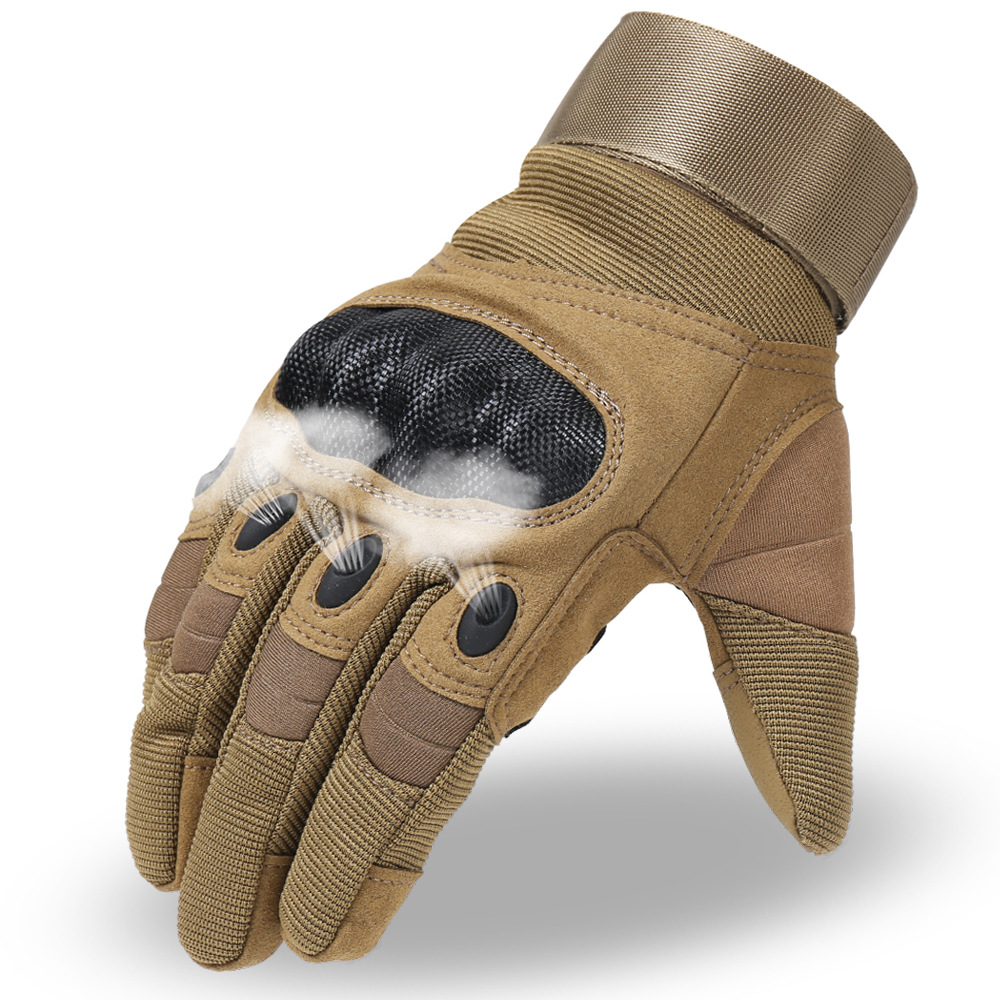 Image 4 - 1 Pair Motorcycle Gloves Breathable Unisex Full Finger Glove  Fashionable Outdoor Racing Sport Glove Motocross Protective  GlovesGloves   -