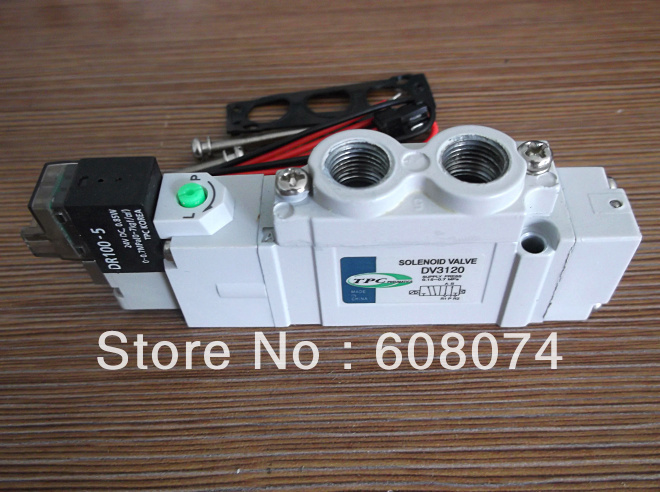 TPC DV3120-5H-01 SOLENOID VALVE Rc1/8 DC24V