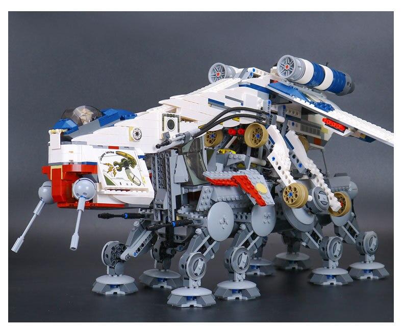 2017 Hot 05053 New Genuine Star Series The Republic Dropship Set Building Blocks Bricks Children Educational Toys 10195 War