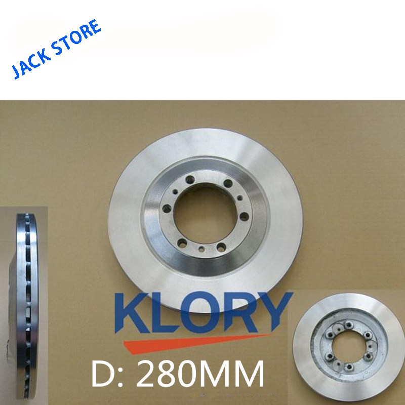 Front brake disc (4X4 280mm) FOR GREAT WALL H3/H5/WINGLE  OEM:3103102-K00(China)
