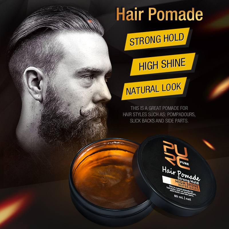 Purc Strong Hold High Shine Natural Look Hair Pomade Retro Hair Oil