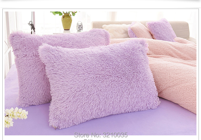 HTB106CnmJnJ8KJjSszdq6yxuFXa3 - Velvet Mink or Flannel 6 Piece Bed Set, For 5 Bed Sizes, Many Colors, Quality Material