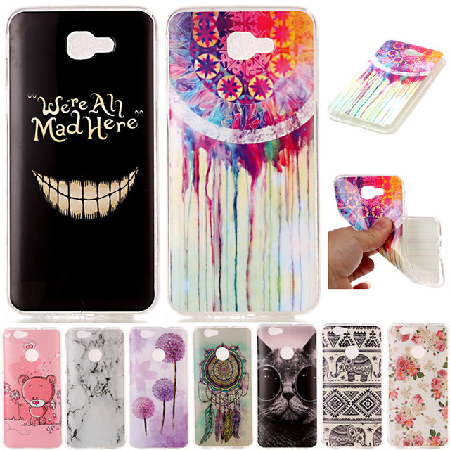 new styles eb774 1cf5a US $1.99 |Cute Cartoon Animal Cat Bear Elephant TPU Fundas Phone Cases For  Samsung Galaxy J5 Prime On5 2016 / J7 Prime On7 2016 Cover Case-in Fitted  ...