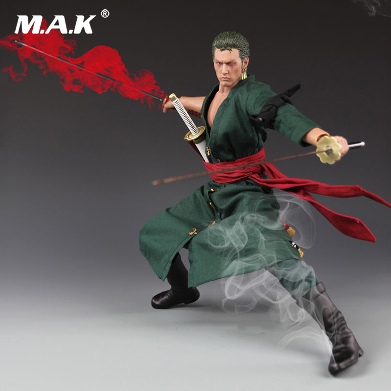 1/6 Scale One Piece Roronoa Zoro Model Action Figure Toys For Collections 1 6 scale full set male action figure kmf037 john wick retired killer keanu reeves figure model toys for gift collections