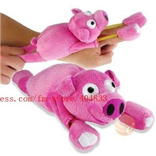 Mix order 100 Pcs/Lot Flying Pig toy/ flying Screaming Slingshot pig+Rosh Certificated Quality+EMS Free shipping Drop Shipping