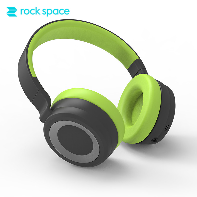 ROCKSPACE S7 Hi-Fi Bluetooth Headphones Headset Stereo Earphones For Laptop Phone with 3.5mm Jack Noise Cancelling Headphone rockspace bluetooth headphone with mic headset hi fi speaker stereo headphones wireless over ear headphones for iphone xiaomi