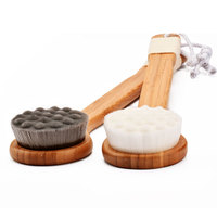Small Soft Bath Brushes Massage Body face Brush Shower Body Soft Body Massage Brushes Accessories Rubbing Tools