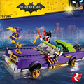 Nova 433 Pcs Lowrider Lepin 07046 Genuína Série de Filmes do Batman O Coringa Conjunto de Blocos de Construção Tijolos Educacionais Brinquedos com 70906