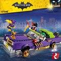 Nuevo 433 Unids Lepin 07046 Genuino de la Serie de Películas de Batman The Joker Lowrider Conjunto de Bloques de Construcción Ladrillos de Juguetes Educativos con 70906