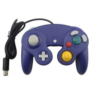 Image 3 - Takip numarası ile kablolu oyun denetleyicisi Gamepad için N G C Joystick için bir düğme oyun küp W i i