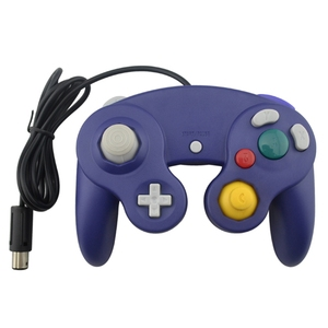 Image 3 - With tracking number Wired Game Controller Gamepad  for N G C Joystick With One Button  for Game Cube for W i i
