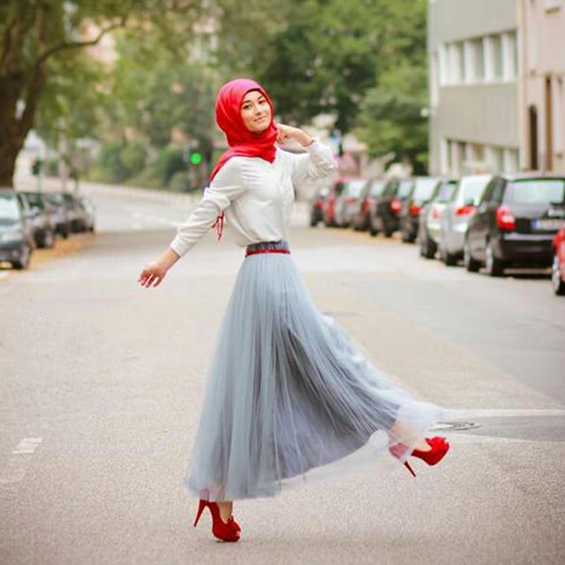 Long Voile Skirt 21