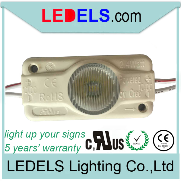 5 years warranty,UL CE ROHS Approved,lightbox led module, 2.4w 200lm
