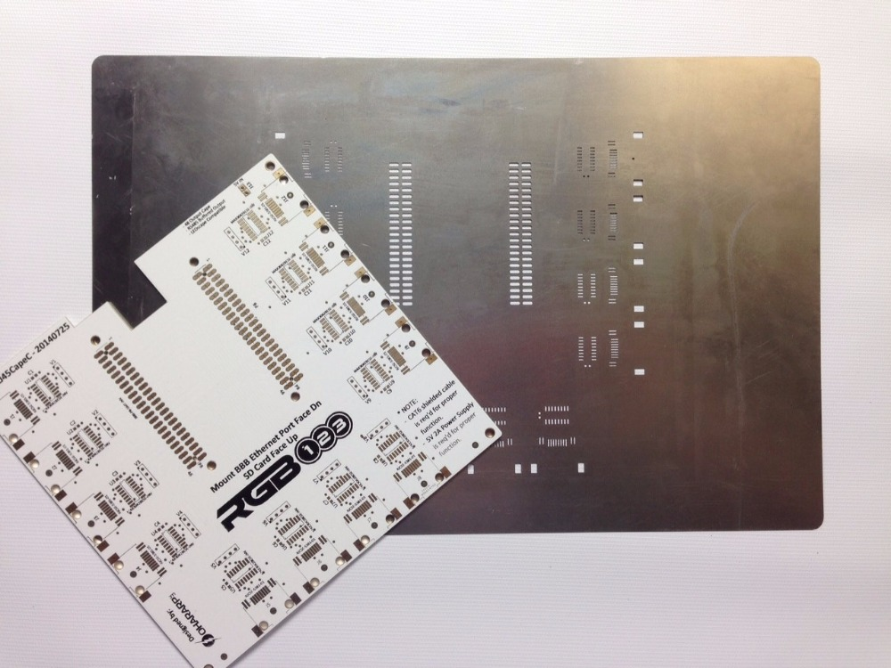 Image 2 - SMT Stencil 37*47CM Customized SMT Stencil more size pls contact  Laser steel stencil with frame Laser stencil for PCB SMT MASK-in Electronics Production Machinery from Electronic Components & Supplies
