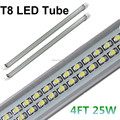 100X LED Tube 25W 4ft T8 Double Line LED Lamps Replacement 50W Fluorescent Tubes 1200mm Warm/Cold White SMD 2835 LED tube Light