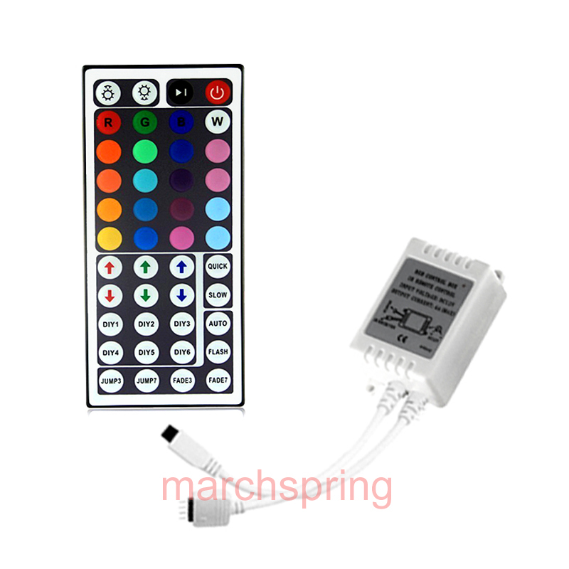 44key infrared controller RGB LED Strip 44 Keys IR Remote Controller for 5050 Free Shipping
