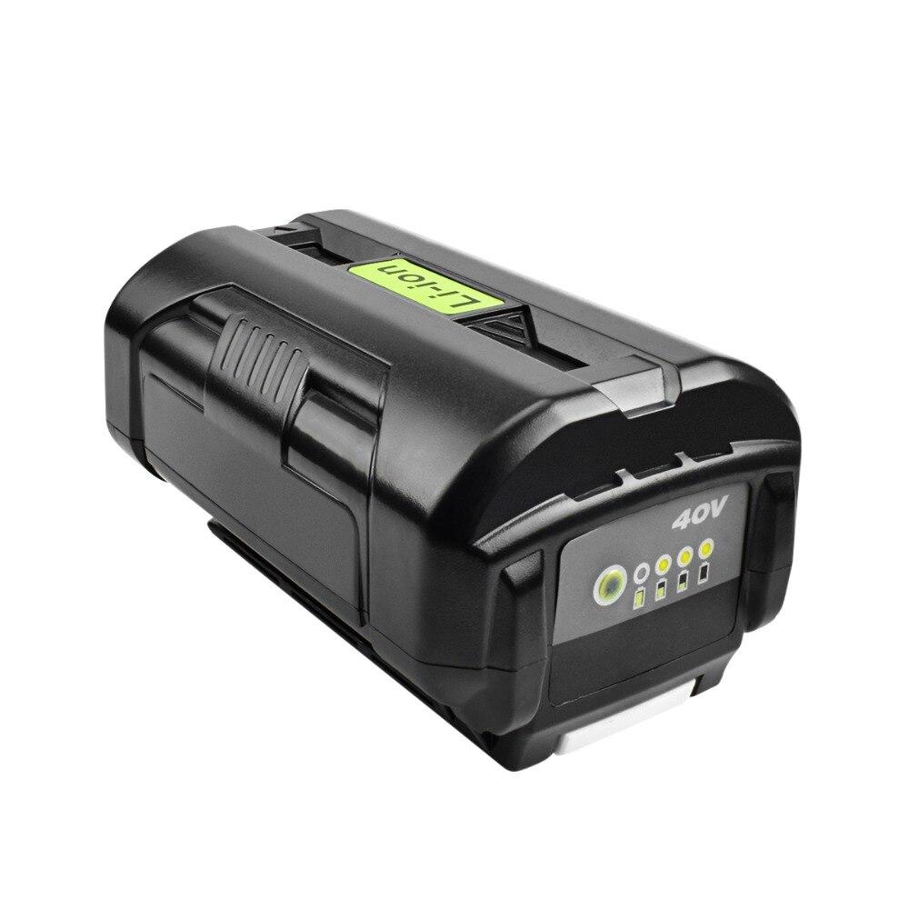 BATTOOL pour Ryobi OP4050 6000 mAh 40 V Li-ion remplacement Rechargeable Y40200 RY40403 RY40204 batterie de taille-bordures sans fil