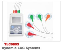 CONTEC TLC9803 ECG Recorder Monitor Portable Cable Heart Monitoring 3 Channels 24hours Dynamic System Manufacturer ECG holter