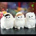 2017 New cat best gifts for kids animal toy cats will meowth children's pet plush toys model birthday gift Doll for boys girls