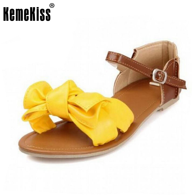 women sandals bohemia bowknot ankle wrap flat sandals brand fashion ladies footwear shoes large size 31-45 2016 new women sandals bohemia bowknot ankle wrap flat sandals brand fashion ladies footwear shoes large size 34 39