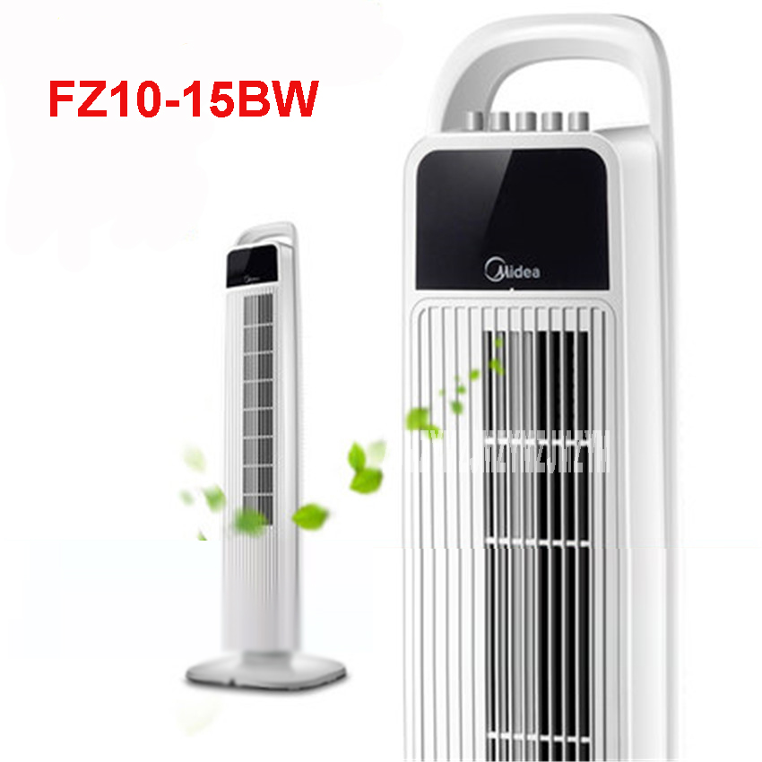 FZ10-15BW 220V/40W Household desktop floor fan Mute fanless fan timing fan no remote control vertical tower fan 3 files Speed цена 2017