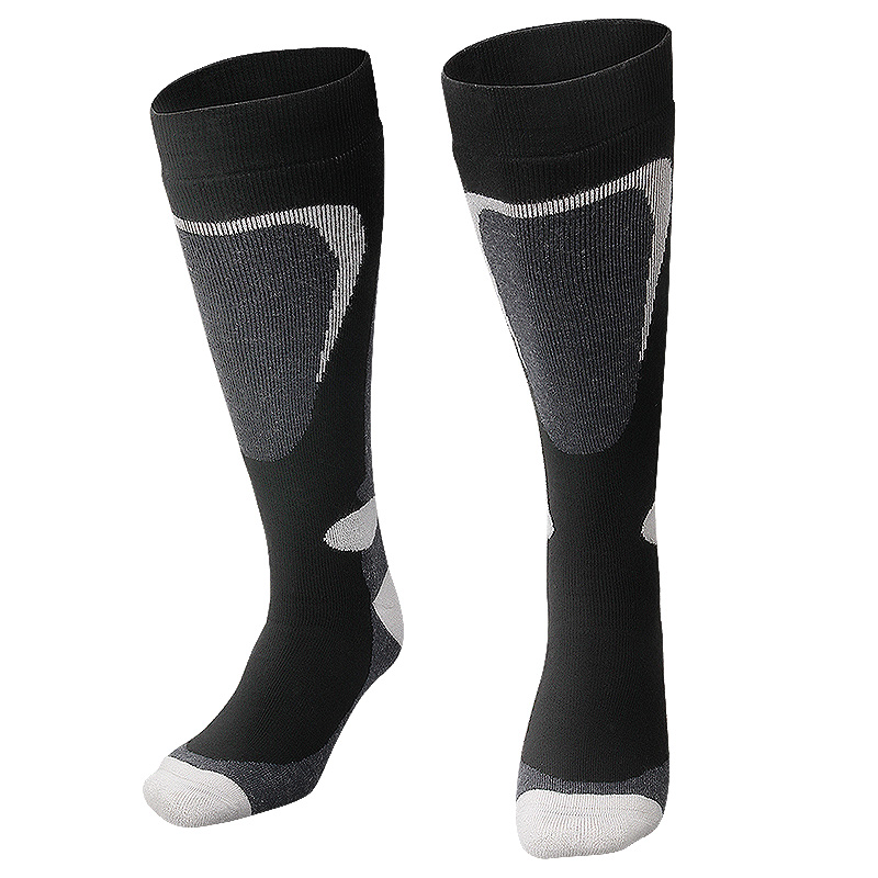 COPOZZ Ski Socks Thick Cotton Sports Snowboard Cycling Skiing Soccer Socks Men & Women Moisture Absorption High Elastic Socks