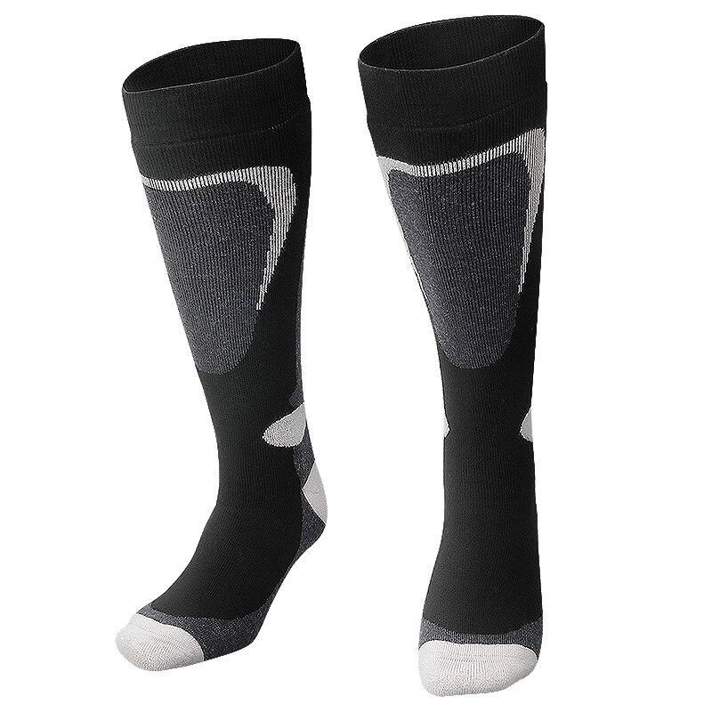 Copozz лыжный Носки для девочек толстые хлопчатобумажные спортивные сноуборд Велоспорт Лыжный Спорт Носки для футбола Для мужчин и Для женщин...