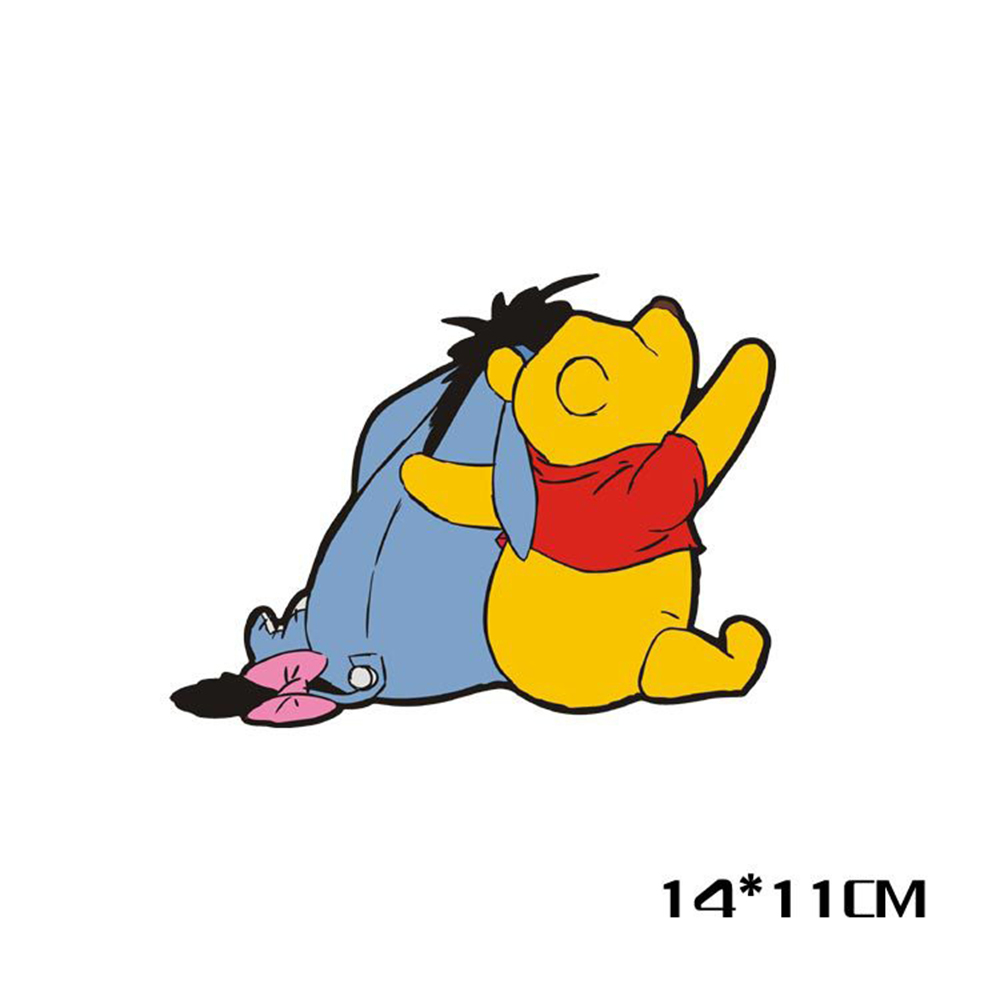 Aliauto Winnie the Pooh Back Cute Car Decoration Funny Sticker And ... for Cute Animated Sticker  55dqh