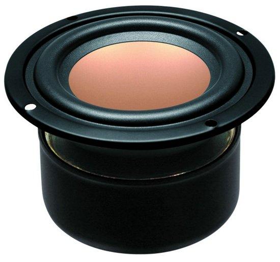 2PCS Original HiVi M3N 3inch Full Range Speaker Driver Unit Magnesium Aluminum Cone Shielded 8ohm/15W D90mm