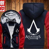 2016 Autumn Winter Assasins Creed Hoodie Sweatshirt Men Black Chadal Hombre Mens Hoody Outdoor Tracksuit Men
