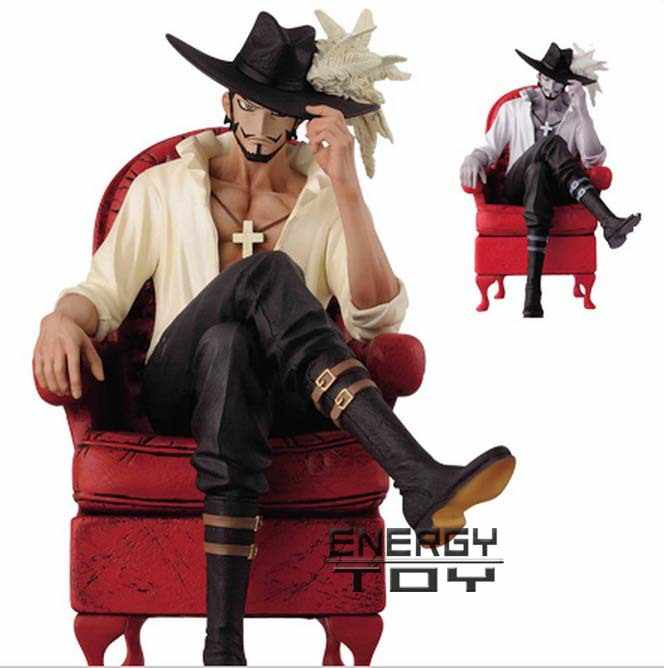 High quality 16cm One Piece Cool Dracule Mihawk Prize Creator x Creator PVC Action Figure Collectible Model Toy