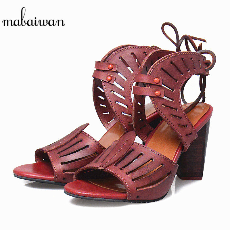 Mabaiwan Red Summer Women Sandals Genuine Leather High Heels Casual Shoes Woman Feminino Tassel Gladiator Ladies Peep Toe Pumps lp156ud2 spa1 lp156ud2 spa1 for dell inspiron 7559 owdt8f 15 6 uhd lcd touch screen assembly