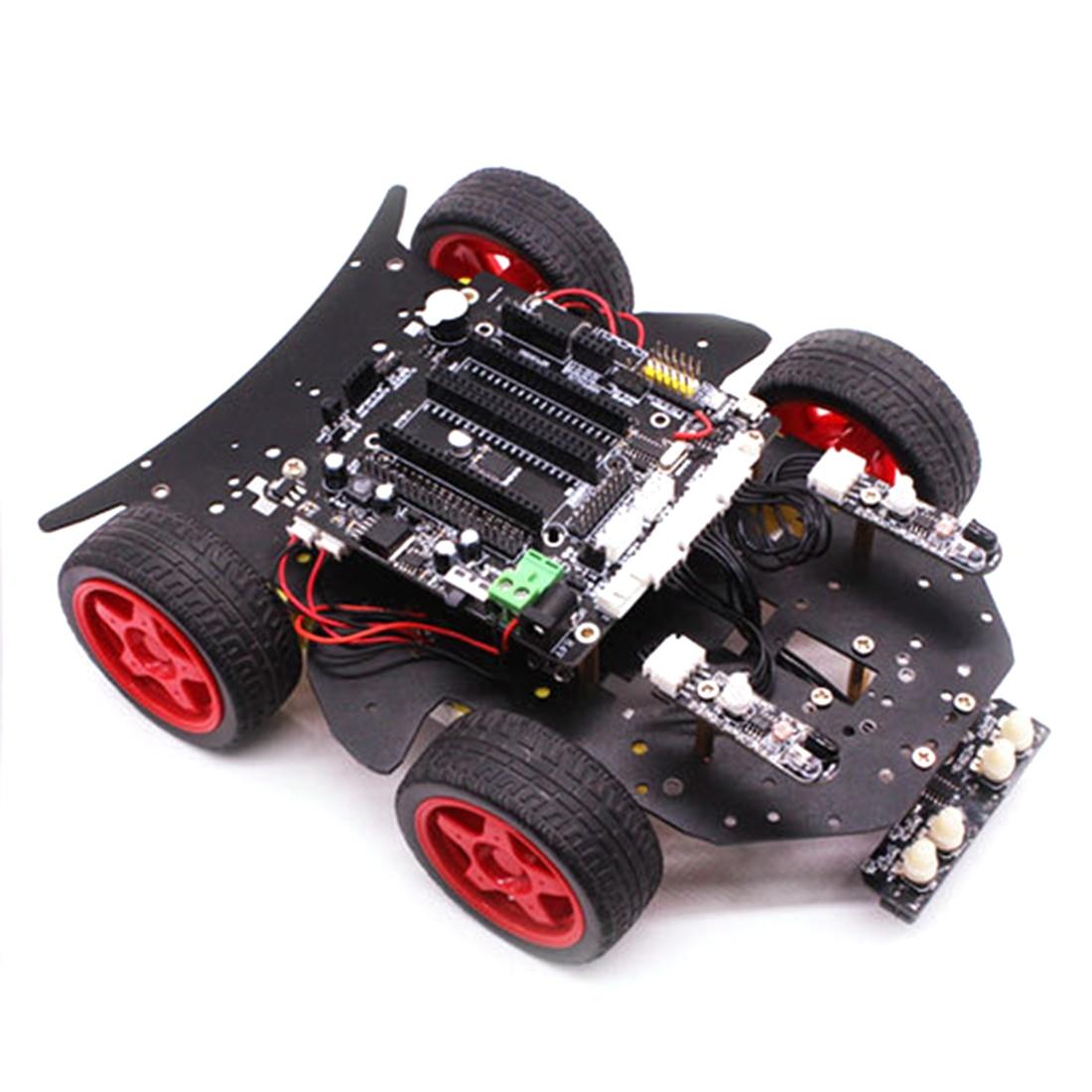 Roboter Auto 4WD Programmierung Stamm Bildung Robot Kit Spielzeug mit Tutorial & Open Source Code für Arduino (Einschließlich UNO r3 Mainboard) - 6