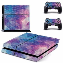 style Decal Skin Sticker For Sony Playstation 4 PS4 Console +2Pcs Controller