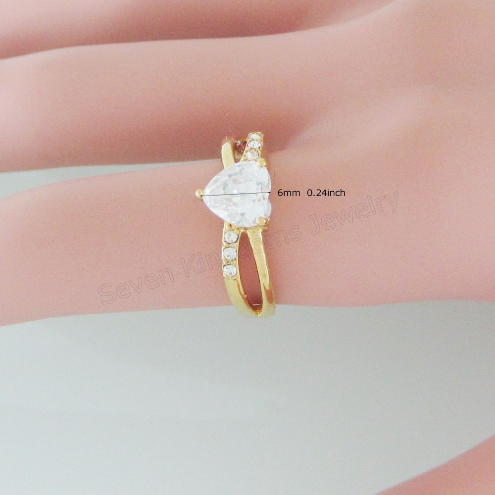 Online Get Cheap Yellow Gold Plated Ladies Rings -Aliexpress.com ...