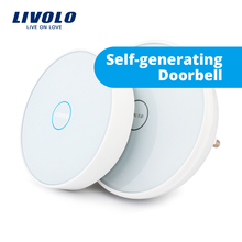 Livolo NEW smart ding dong wireless electronic touch doorbell, wifi cordless  Doorbell,with Night Light