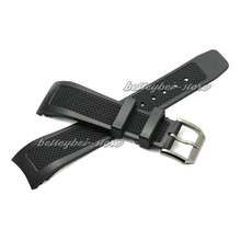 22mm (18mm fermoir) vente chaude Nouveau Hommes Femmes bracelet pour horloge noir bande De caoutchouc de Silicone boucle pour iwwatchband De Luxe livraison gratuite