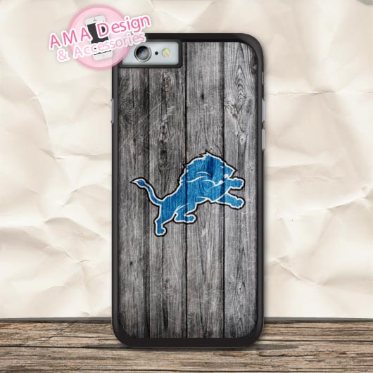 Detroit Lions American Football Case For iPhone X 8 7 6 6s Plus 5 5s SE 5c 4 4s For iPod Touch