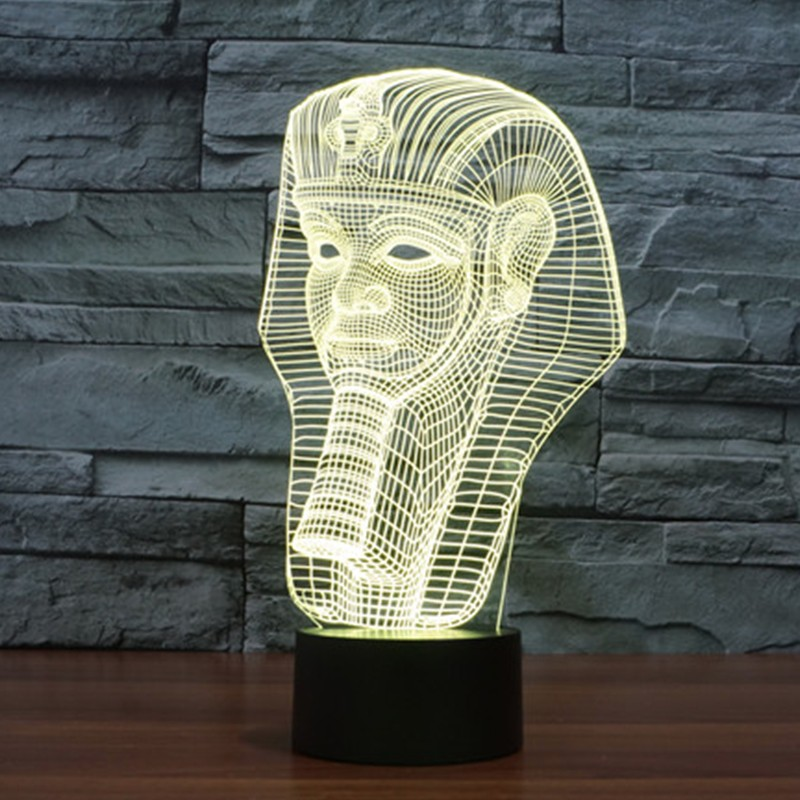 7-color-Holiday-Atmosphere-Decorative-Kids-gift-Pharaoh-Style-3D-Ilusion-LED-Night-Light (3)