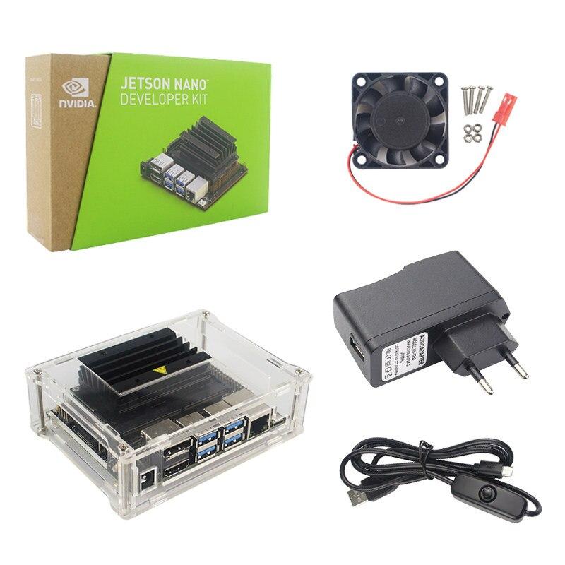 NVIDIA Jetson TX2 Developer Kit, AI Supercomputer on a  module,providesapplications such as smart cities, factory rotots