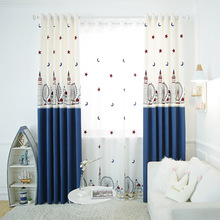 Manufacturers Directly Sell Cloth Wholesale Bedroom Living Room Childrens Cartoon Shading Curtains Custom-made Fabric Drapes