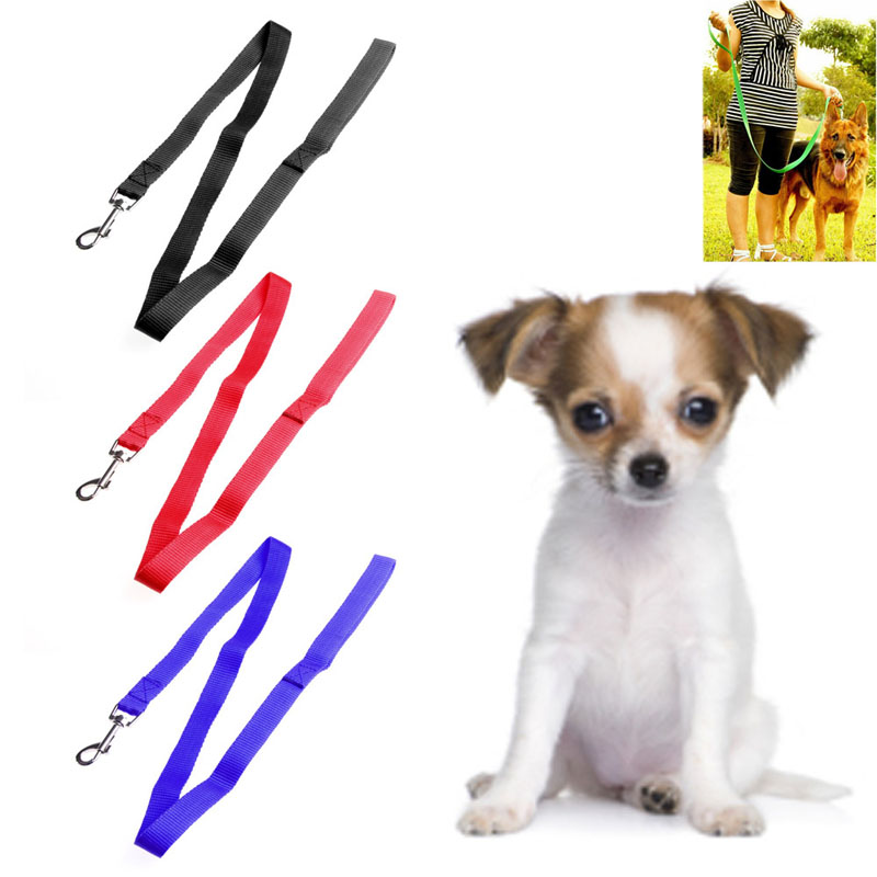 Classic Pet Dog Nylon Rope Training Leash Lead Strap Adjustable Traction Collars