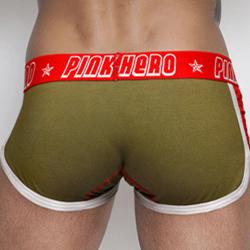 Pink Hero High Quality Fashion White Black Men Boxer Underwear Pattern Cotton Boxer Boxer Shorts Men Sexy Panties Brand Clothing