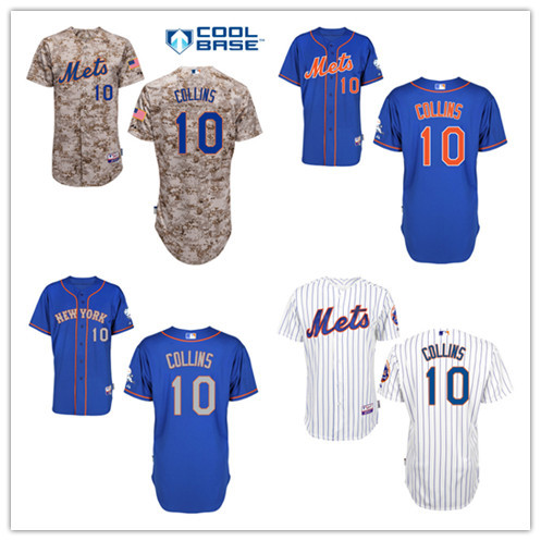 info for 5da0b 11386 US $49.99 |New York Mets Baseball jersey 10 Terry Collins Jersey Embroidery  Logos Baseball Jersey-in Baseball Jerseys from Sports & Entertainment on ...
