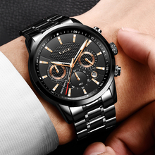 2018 LIGE Mens Watches Top Luxury Brand Business Quartz Watch Men Military Sports Waterproof Dress Wristwatch Relogio Masculino 2018 lige mens watches business top luxury brand quartz watch men leather dress waterproof sports chronograph relogio masculino