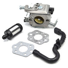 Walbro Carburetor Gas Fuel Line Pipe Gasket Kit For Stihl 017 018 MS170 MS180 MS 180 170 Chainsaw # 11301200603 11301200608