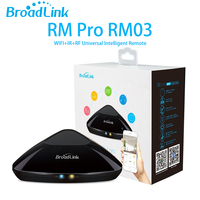2017 Broadlink RM03 RM Pro WIFI + IR + RF Universel Intelligent Commutateur de Commande À Distance pour iphone IOS Android Smart domotique