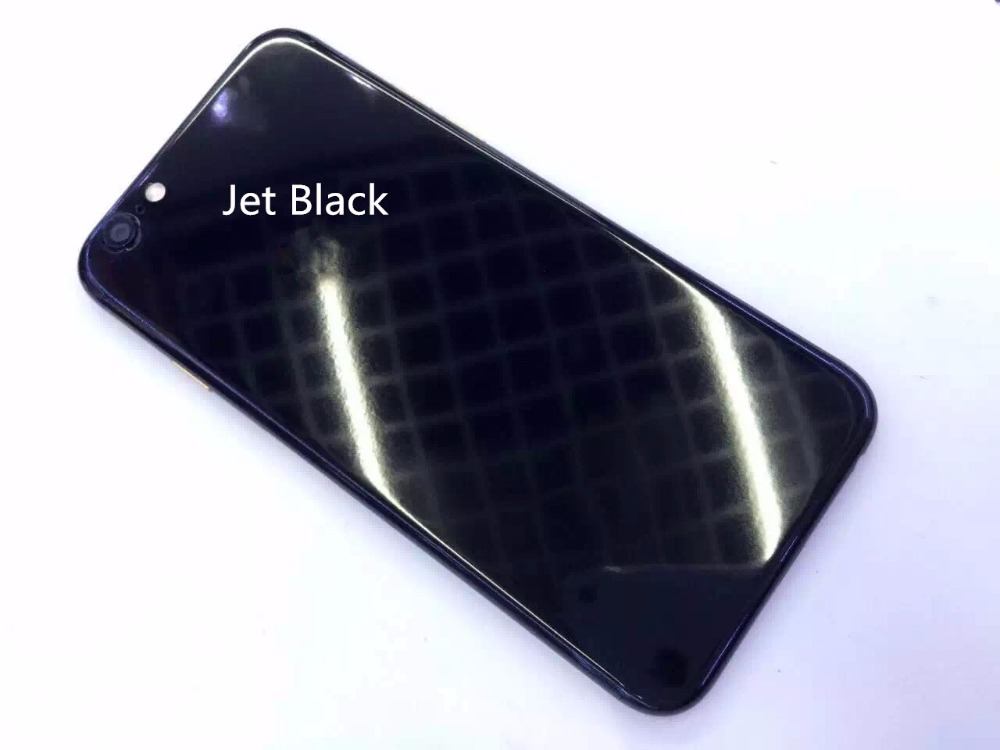 new style 524e8 19d6d US $39.99  Jet BLACK WHITE Back Cover Housing for iPhone 6 6S 7 4.7