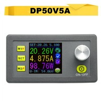 Upgraded DP50V5A Digital Voltmeter LCD Display Constant Programmable Voltage Current Step Down Regulated Power Supply Module